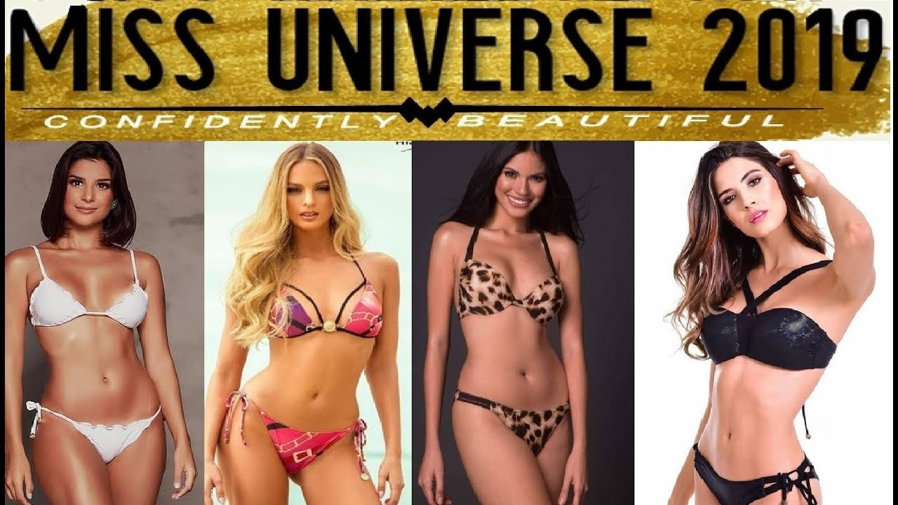 HD Miss Universe 2019 STRONGEST CONTENDERS  - Top 10 June Editions
